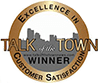 Talk of the Town award winner logo